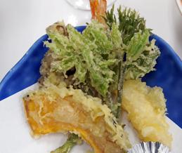 コシアブラ、うどの天ぷら