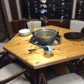【宿泊者サービス その1】囲炉裏端で味わう大根の煮物